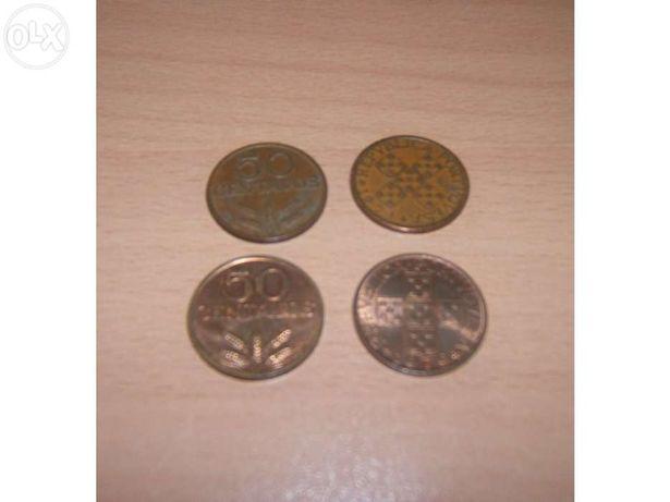 50 Centavos, Moedas de Bronze de 1969 a 1979