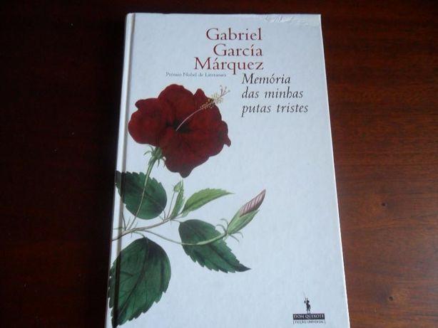 """""""Memória das Minhas Putas Tristes"""" de Gabriel García Márquez - 1ª Ed."""