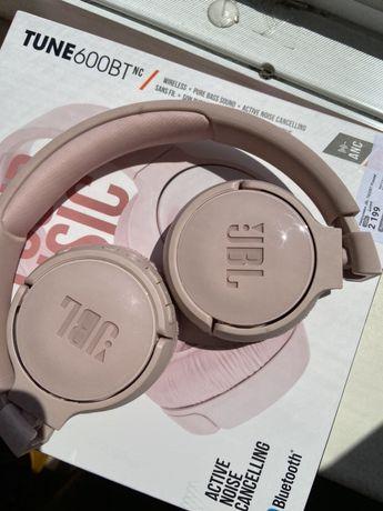 Bluetooth наушники JBL T600BT розовые