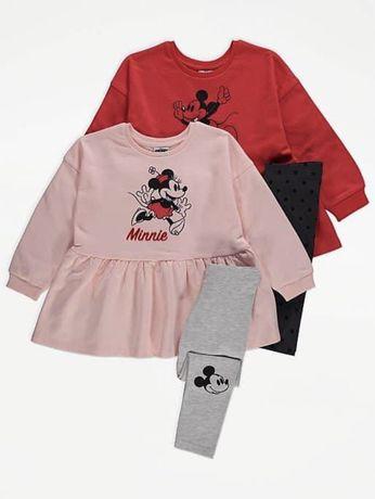 Новый костюм комплект George 116 122 см 6 7 лет Disney Next Zara H&M