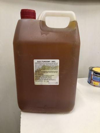 Olej tungowy 5 litrów