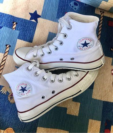 Кеды высокие белые CONVERSE All Star