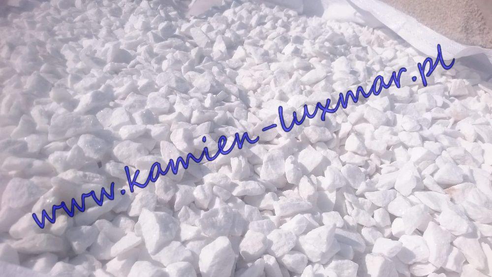 Grys śnieżnobiały grecki frakcja 16/22mm /kamień ogrodowy/BRUTTO Tłuszcz - image 1