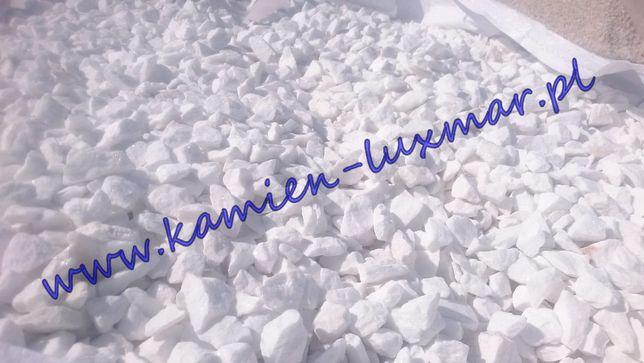 Grys śnieżnobiały grecki frakcja 16/22mm /kamień ogrodowy/BRUTTO