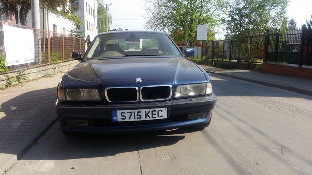 BMW e38 735 przedlift alpina biarritzblaue metallic kod 363/5