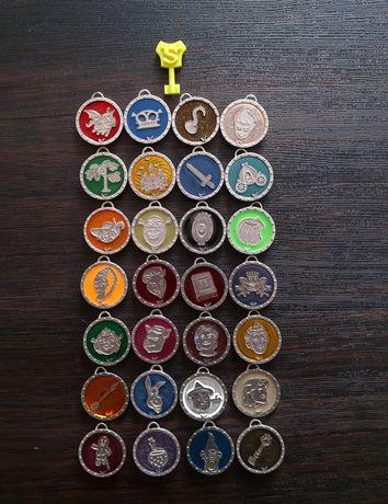 Продам коллекционные медальоны Шрек