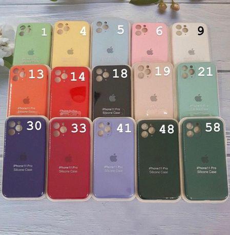 Чехлы для iPhone 11/Pro/ Max, Silicon Case - Full cover силиконовые
