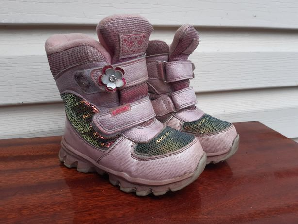 Зимние термо сапоги для девочки