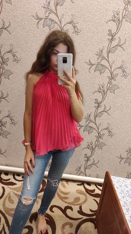 Блуза, розовая блузка.