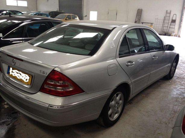 Peças Mercedes C 220 cdi carroceria W203 ano 2000 a 2007