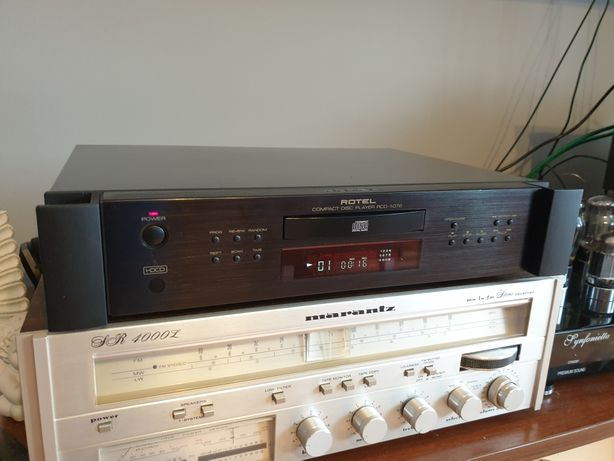Świetny odtwarzacz cd Rotel Rcd-1072 po modyfikacji .
