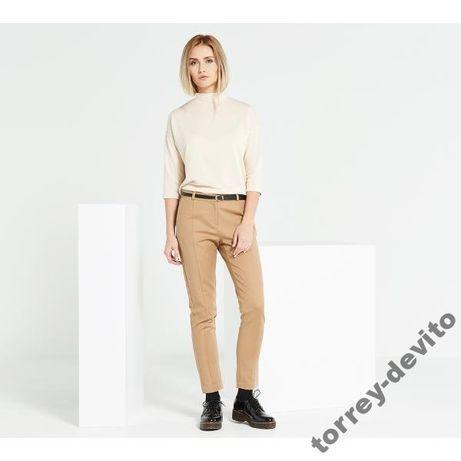 Brązowe eleganckie spodnie 44/XXL
