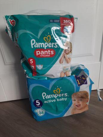 Памперсы размер 5 pampers active baby, pants