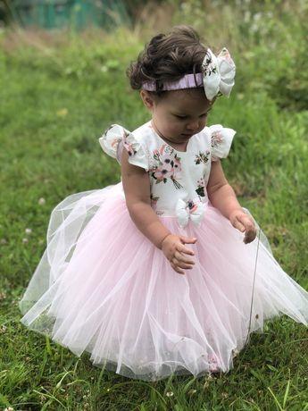 Платье на 1 годик, платье на 3 годика, плаття нарядне, family look