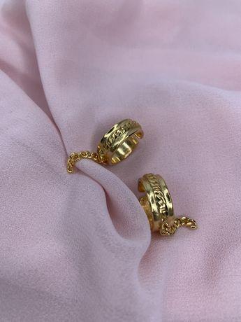 Кольцо с цепями