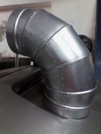 vendo vario material novo para montagem de tubos ,curvas,chapeus etc