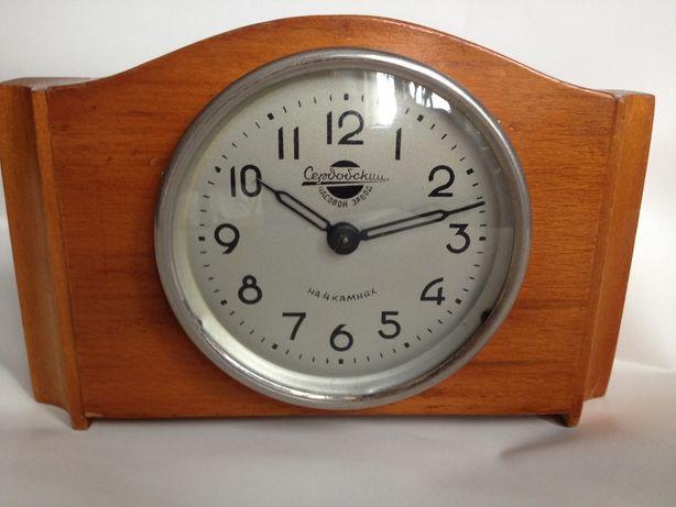 Часы каминные механические 50-го года