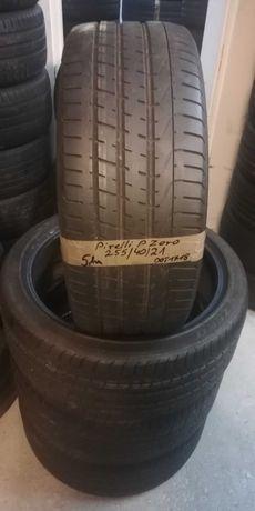 255 40 R21 Pirelli Pzero 4szt komplet z Niemiec NAJTANIEJ lato LUMI