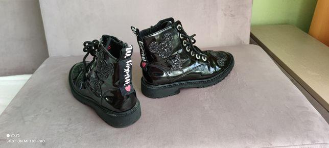Ботинки  ZARA демисезонные на девочку р.34 22 см по стельке 350грн