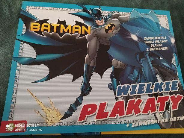 Książeczka Batman Wielki plakat