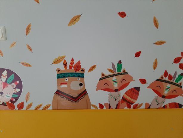 Naklejki dekoracyjne – dekor ścian, mebli LEW, SZOP, KRÓLIK