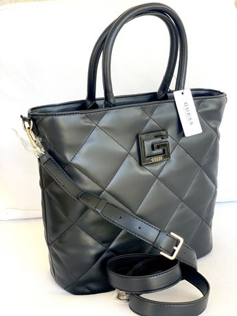 Mala Black Quilted Guess