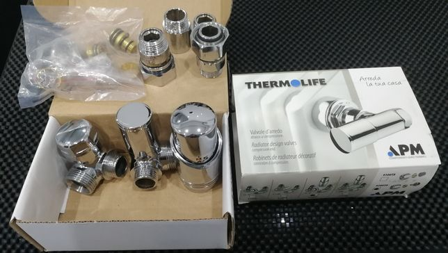 Zawór termostatyczny do grzejnika kpl