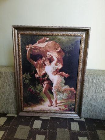 Вышитая картина ручной работы