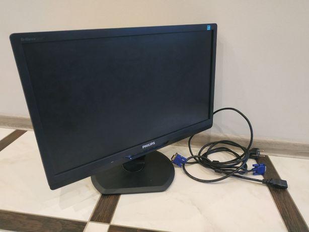 Монитор PHILIPS 221S3L рабочий, с кабелем, FullHD. Синергия