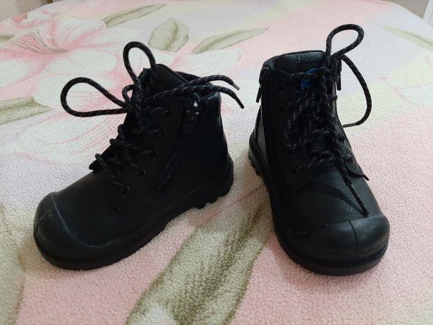 Ботинки кожаные Palladium размер 21 осень