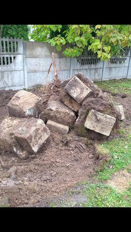 Oddam gratis słupki betonowe
