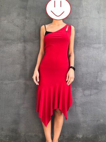 Красное платье на выпускной/для танцев