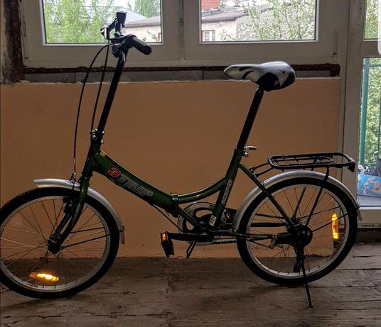 Rower miejski SKŁADAK 3 TRIP Camper