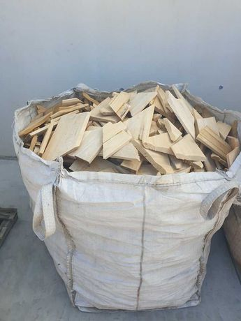 Drewno opałowe klapki