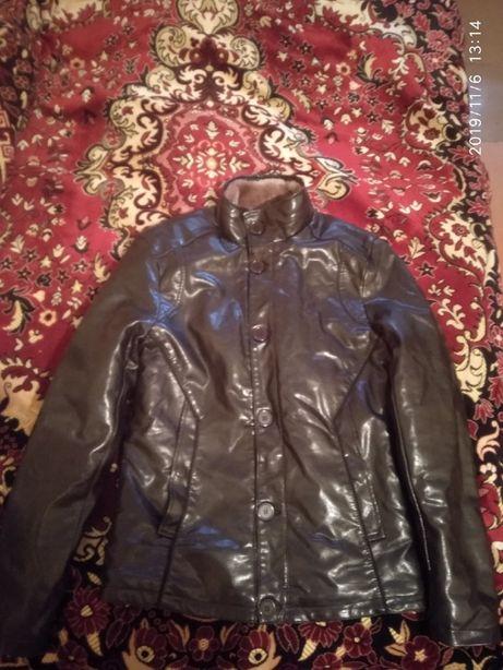 Куртка кожзам 48 размер