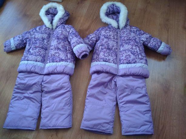 Kombinezon zimowy kurtka +spodnie 2t z USA jak nowy cena/2szt