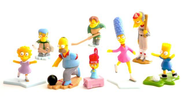 The Simpsons - Brindes Ovos Ferrero Kinder Surpresa (2011)