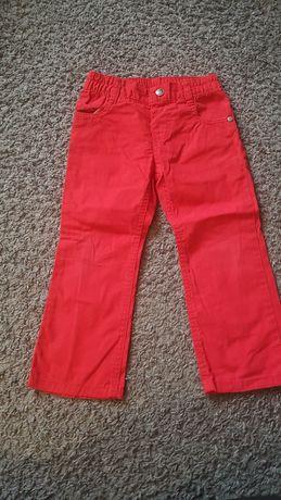 Czerwone spodnie rozmiar 98