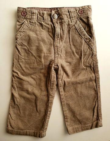 Spodnie sztruksowe Reserved roz.74