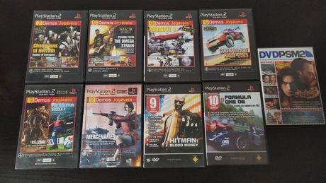 Conjunto de Demos + DVD - PlayStation 2 - PS2