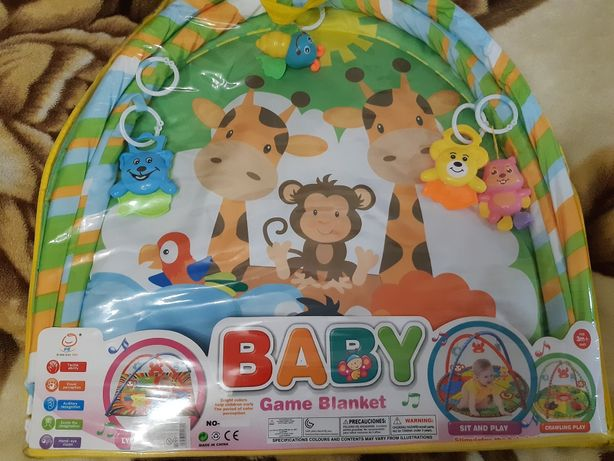 Игровой коврик baby game blanket