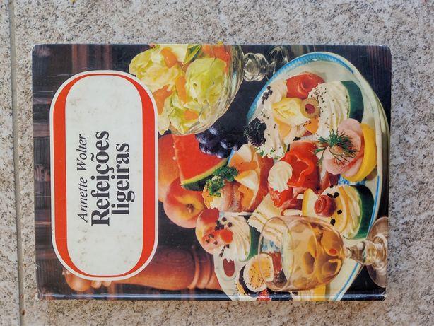 Livro de culinária. Refeições Ligeiras
