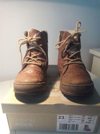 Buty zimowe dziecięce Lasocki, rozmiar 23, unisex