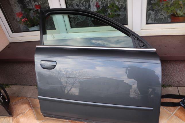 Drzwi Prawe Przednie Audi A4 B7 Rok 2007 Stan Bdb Kod LX7Ż Kompletne