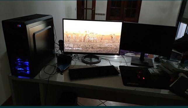 Computador i5 completo com 16gb ram + ecrã + teclado + rato