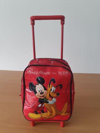 Mochila e saco Mickey Mouse - NOVOS