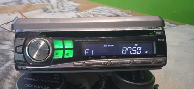radio Alpine i głośniki