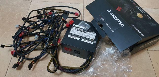 Блок питания 750W модульный Chieftec APS-750CB