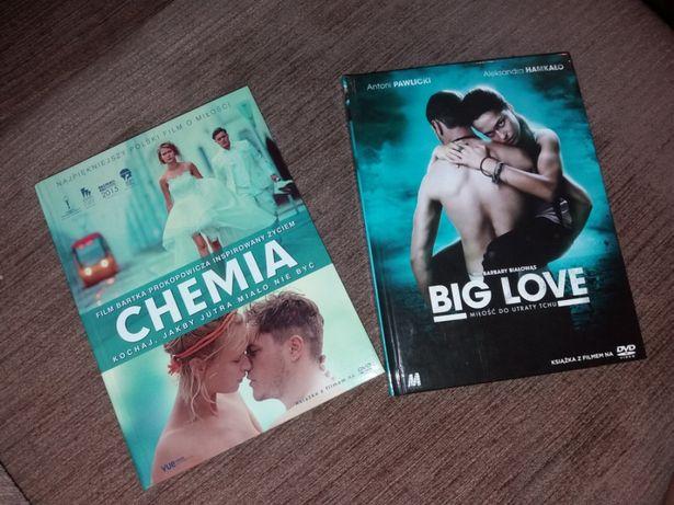 """Płyty DVD """"Chemia"""", """"Big love"""""""
