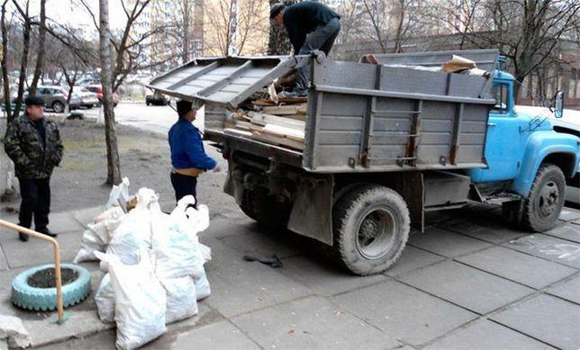 Вывоз мусора зил газель грузчики
